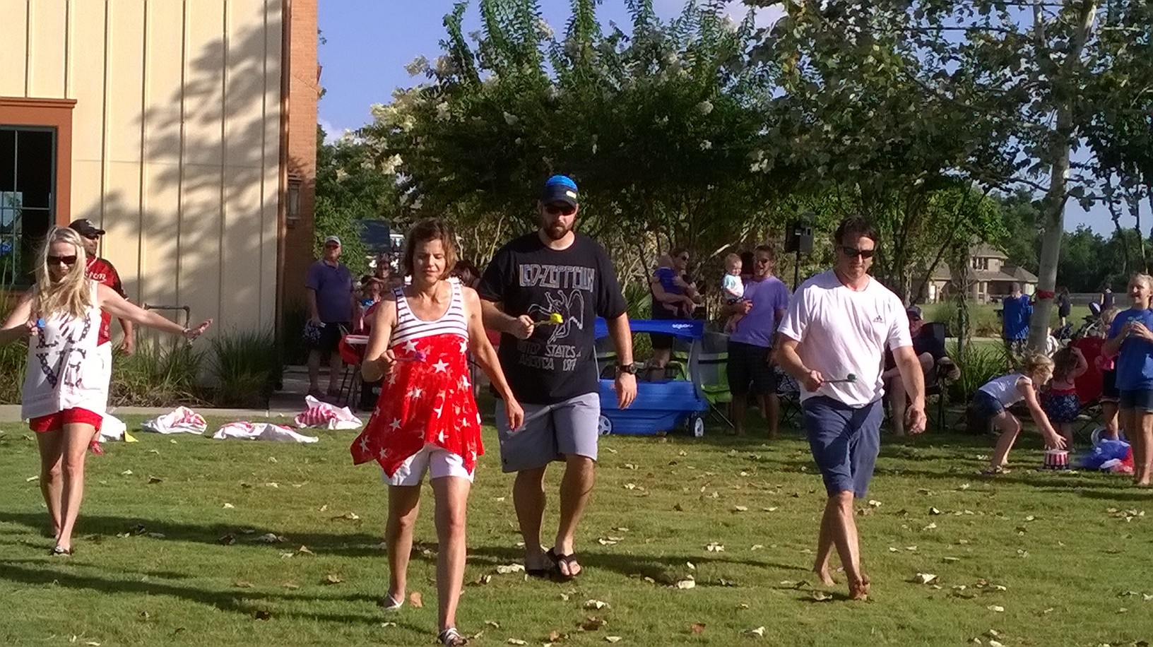4th of July Egg Race