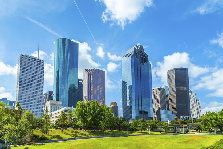 Strong Economic Development in Houston